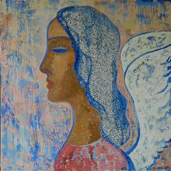 Presentation of International art project Angels of Peace